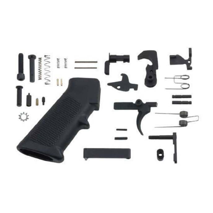 Bushmaster AR-15 Standard Lower Parts Kit Mil Spec, Black