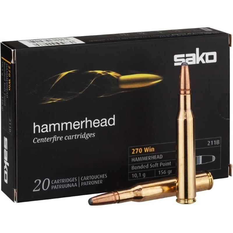 SAKO Hammerhead 270 Win 156GR 20Rnds